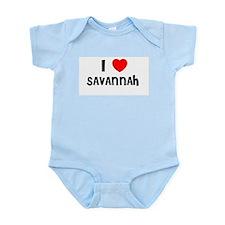 I LOVE SAVANNAH Infant Creeper