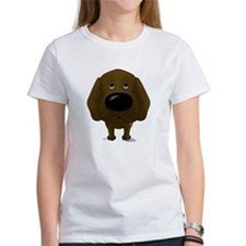Big Nose/Butt Chocolate Lab Tee
