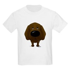 Big Nose/Butt Chocolate Lab T-Shirt