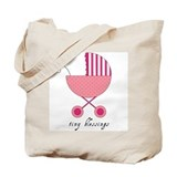 Tiny Blessings Carry All Bag (pink)