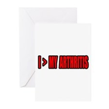 """Greater Than My Arthritis"" Greeting Cards (Pk of"