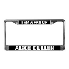I'm a fan of Alice Cullen License Plate Frame