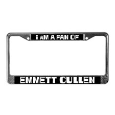 I am a fan of Emmett Cullen License Plate Frame