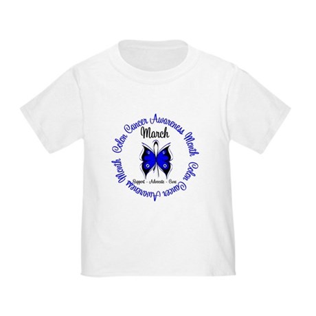 ColonCancerAwarenessMonth Toddler T-Shirt