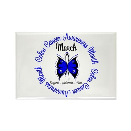 ColonCancerAwarenessMonth Rectangle Magnet