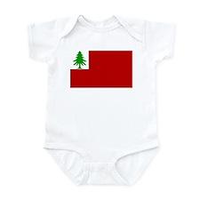 New England Flag Infant Bodysuit