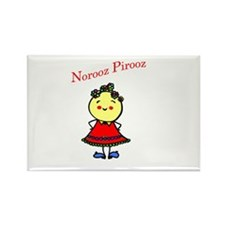 Miss Norooz Rectangle Magnet