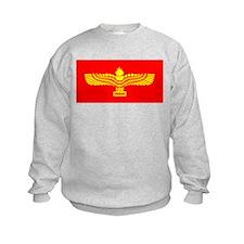 Syriac Aramaic Flag Sweatshirt