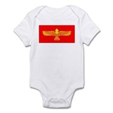 Syriac Aramaic Flag Infant Bodysuit