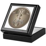 LPN Caduceus Keepsake Box