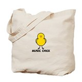Music Chick Tote Bag