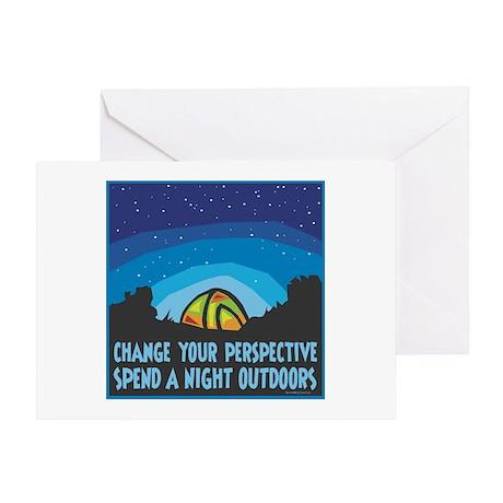 Tent Camping Greeting Card