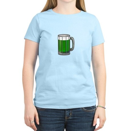 Mug of Green Beer Women's Light T-Shirt