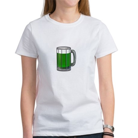 Mug of Green Beer Women's T-Shirt