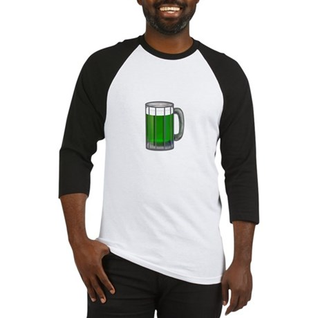 Mug of Green Beer Baseball Jersey
