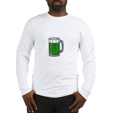 Mug of Green Beer Long Sleeve T-Shirt