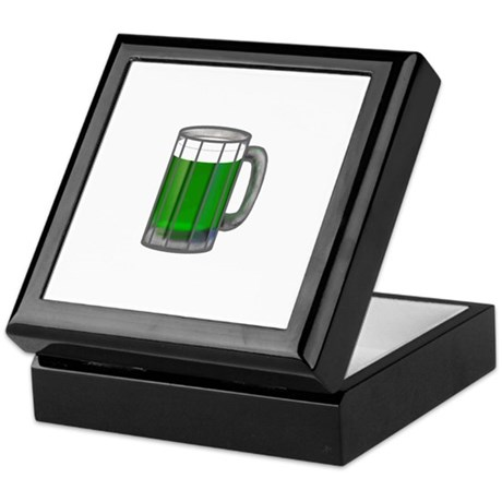 Mug of Green Beer Keepsake Box
