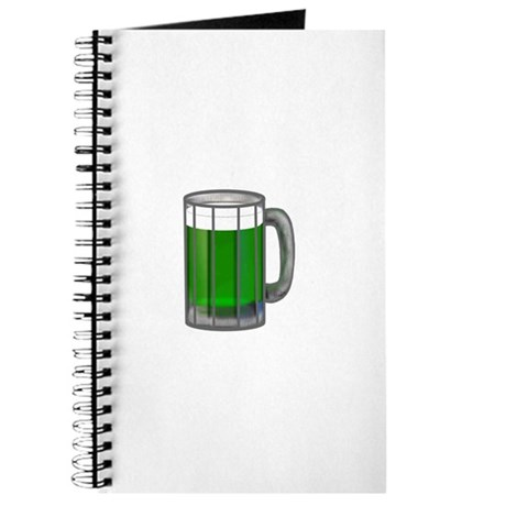 Mug of Green Beer Journal