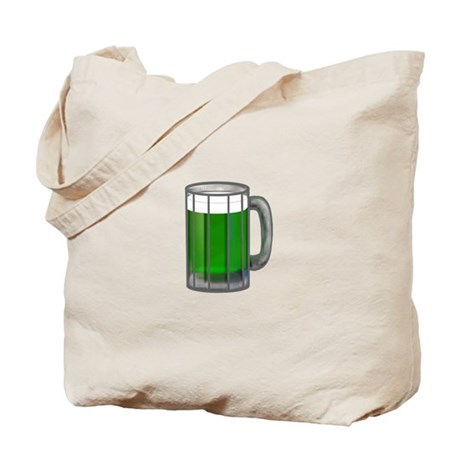 Mug of Green Beer Tote Bag