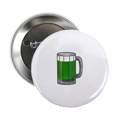 "Mug of Green Beer 2.25"" Button"