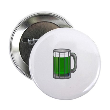 "Mug of Green Beer 2.25"" Button (10 pack)"