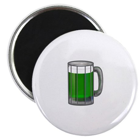 "Mug of Green Beer 2.25"" Magnet (10 pack)"