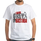 I Wear Grey For My Brother 6 Shirt