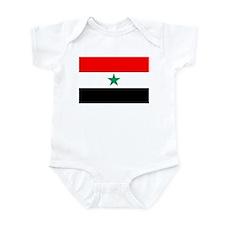 North Yemen Flag Infant Bodysuit