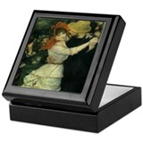 Renoir Dance at Bougival Keepsake Box