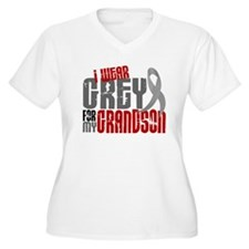 I Wear Grey For My Grandson 6 T-Shirt