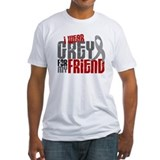 I Wear Grey For My Friend 6 Shirt