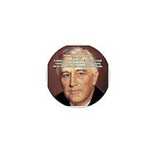 American President FDR Mini Button (100 pack)