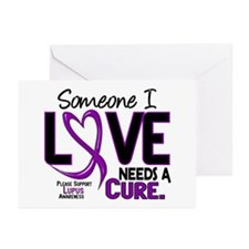 Needs A Cure 2 LUPUS Greeting Cards (Pk of 10)