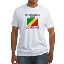 My Congolese Mom Loves Me Shirt