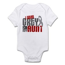 I Wear Grey For My Aunt 6 Infant Bodysuit
