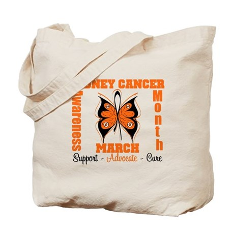 Kidney Cancer Month Tote Bag