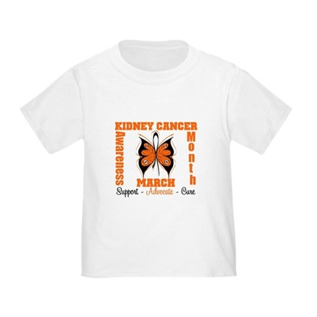 Kidney Cancer Month Toddler T-Shirt