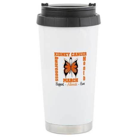 Kidney Cancer Month Ceramic Travel Mug