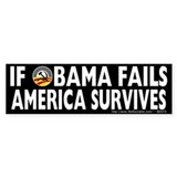Anti-Obama Obama Fails America Survives Bumper Sticker