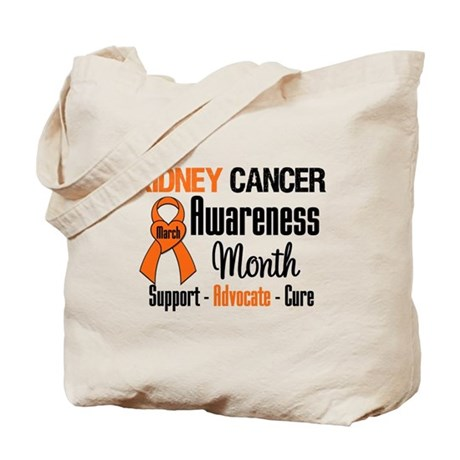 KidneyCancerAwarenessMonth Tote Bag