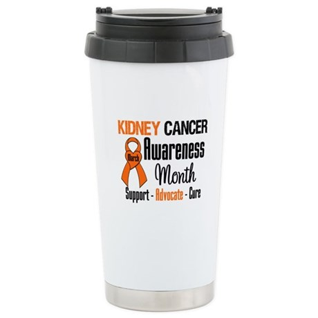 KidneyCancerAwarenessMonth Ceramic Travel Mug