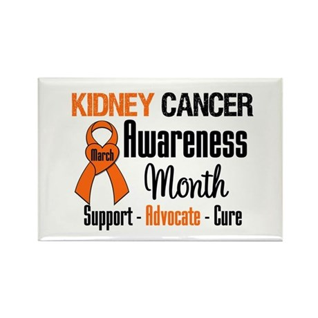 KidneyCancerAwarenessMonth Rectangle Magnet