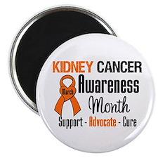 "KidneyCancerAwarenessMonth 2.25"" Magnet (100 pack)"