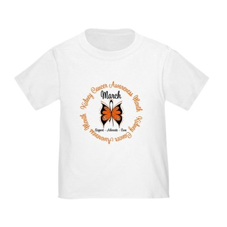 KidneyCancer Month Toddler T-Shirt