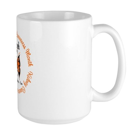 KidneyCancer Month Large Mug