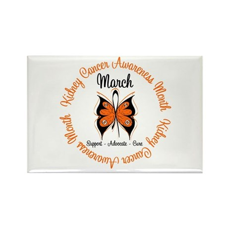 KidneyCancer Month Rectangle Magnet