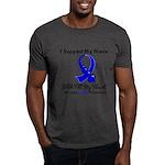 ColonCancerHeart Niece Dark T-Shirt