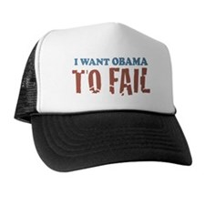 I want Obama To Fail Trucker Hat