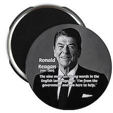 "American President Reagan 2.25"" Magnet (100 pack)"