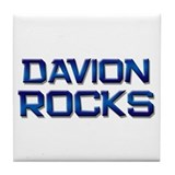 davion rocks Tile Coaster